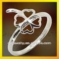 de alta calidad baratos de china joyería buena suerte anillo de plata para la señora con la entrega rápida de paypal aceptable