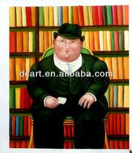 Famous Artist Fernando Botero Oil Painting