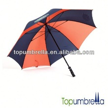 Good quality nice windproof double layer golf umbrella