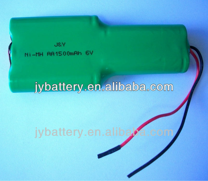 6.0v nimh rechargeable battery pack Camera/Portable TV