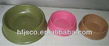 bio bamboo fiber pet water bowls