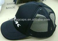 foil print jersey foam and mesh trucker base ball cap hat