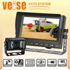 CCTV Camera System with 7 inches monitor and waterproof camera
