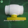 De plástico de pp-r válvula de bola/de plástico( núcleo de acero)