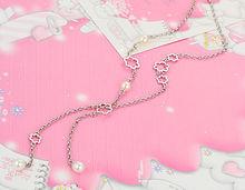 pearl chain necklace designs bridal