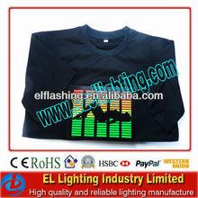 el light up equalizer t shirt /el tee t shirt