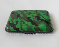 Promotional camouflage aluminum credit card holder card wallet