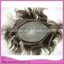 PU base men's toupee