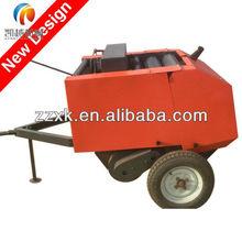 straw and hay round mini baler 25hp PTO tractor