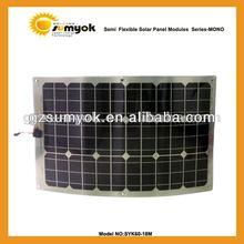 Portable crstalline silicon 12V solar battery charger