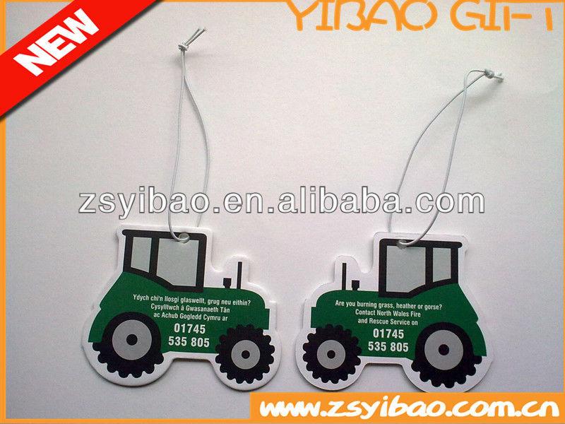 Paper air freshener/car air freshener for promotion