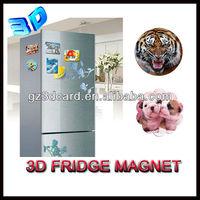 2013 giveaway 3D lenticular animal fridge magnet