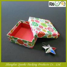 Small birthday gift box,toy packaging box,handmade box