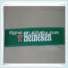 promotion pvc bar mat ,custom printed bar coaster, party