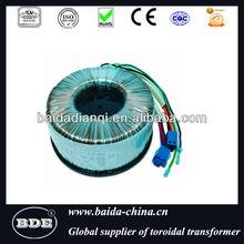Toroidal shield transformer
