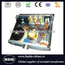 Amplificator audio transformer