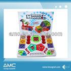 DIY 3D Plastic Magnetic Building Blocks Toys for Kids