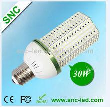SNC-CL-30WA1 compact fluorescent 100w e26 30w led corn light CE,RoHS,PSE certificate
