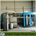 oxígeno líquido de separación de aire de la planta