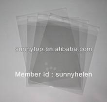 Clear A4 self seal plastic bag