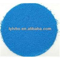blue powdered laundry detergent