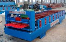 wellblech dachziegel profiliermaschine touchscreen making machine