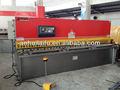 De aluminio de corte de la máquina con el certificado del ce, De corte de chapa de acero de la máquina, Atom hidráulico de corte de la máquina
