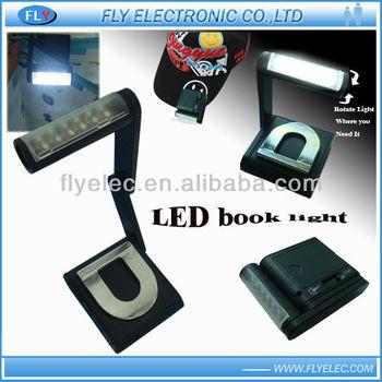 12LED rotatable Book light
