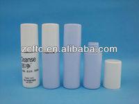 40ml HDPE plastic bottle with overcap, micro plastic sprayer bottle