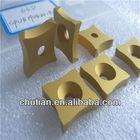high quanlity manufactory gold coating carbide spub milling tips