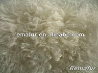 Genuine Long Haired Lamb Fur Curly Lamb Sheep Fur