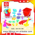 البلاستيكية مجموعة رمال الشواطئ لعبة