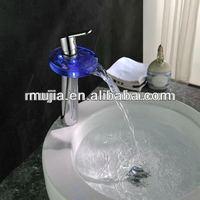 Colorful LED Temperature Sensor 3 Color Water-Tap Faucet RGB Glow Shower Faucet tap mixer