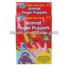 Animal Finger Puppets Eva Finger Stall Toy For Kids