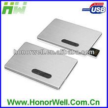 My Flash Usb Metal Slip Credit Card Name Card Model