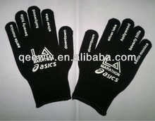 knitted cotton gloves manufacturer in china/promotional cotton gloves