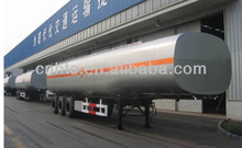 Carbon steel,40m3-45m3 oil tanker,3 axle,can compartment.FUHUA axle