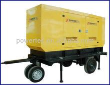 trailer portable diesel generator set