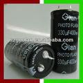 glan 400v 330uf polar capacitor capacitor eletrolítico de alumínio