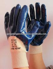 nitrile coated flannel liner glove