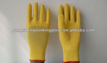 3/4 latex coated nylon glove