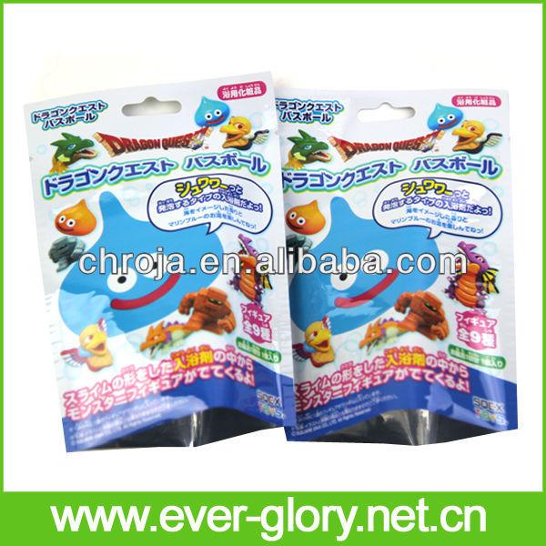 For Toys Packing Biodegradable Aluminum Foil Bag Vacuum