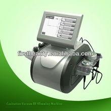 2013 Portable Salon TOP ONE tripolar RF+vacuum+BIO cavitation slimming machine F019