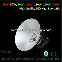 100w led high bay light/lighting led bay ztl