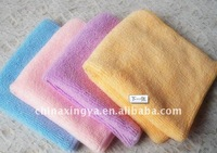 promotional and home care absorbency plush microfiber cleaning cloth
