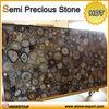 Blue agate stone semi precious stone artificial stone