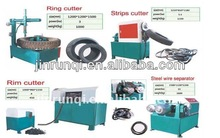 high quality radial tyres cutting machine