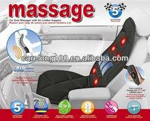 massage car seat/ car back cushion massage