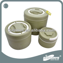 3pcs/set insulated thermal food container