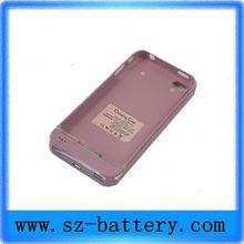 2013 Metal Portable Iphone Backup Battery Case 1900mah